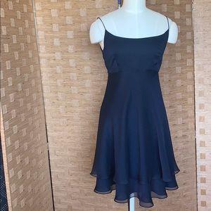 Kay Unger chiffon spaghetti strap dress Size 4